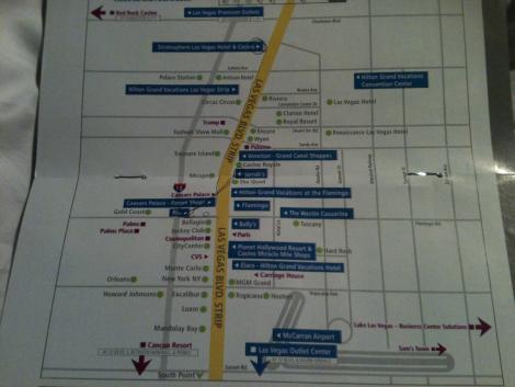 Hotel Location Map