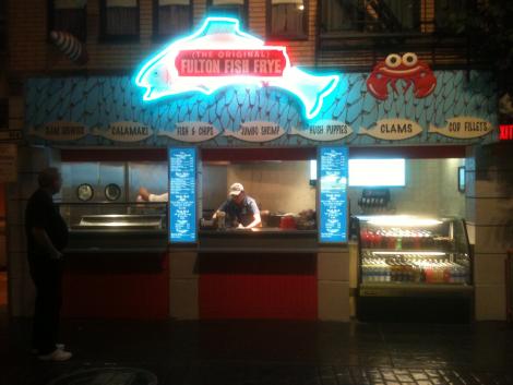 NYNY Fulton Fish Frye