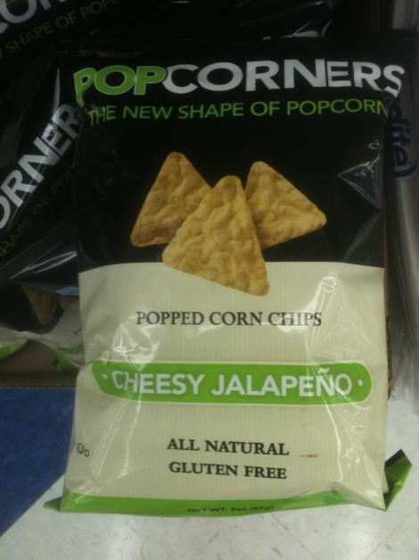 Pop Corners Cheesy Jalepeno
