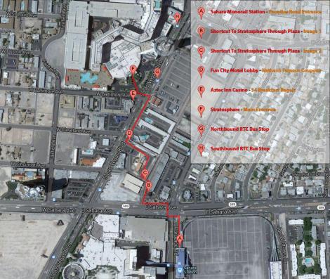 Stratosphere Neighbourhood Map