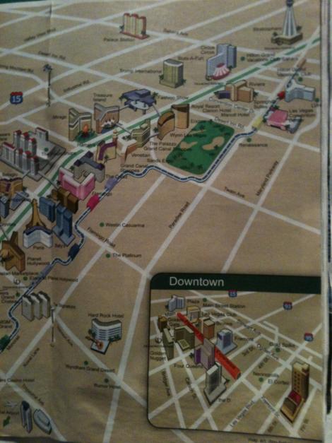 Strip Map With Bridges 2